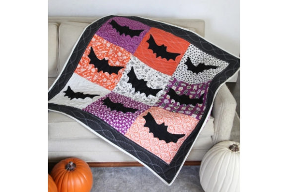 Eek Boo Shriek Graphic Quilt Patterns By carina2 - Image 2