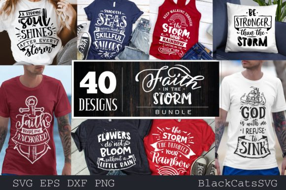 Faith Bundle Bundle 40 Designs Graphic Download