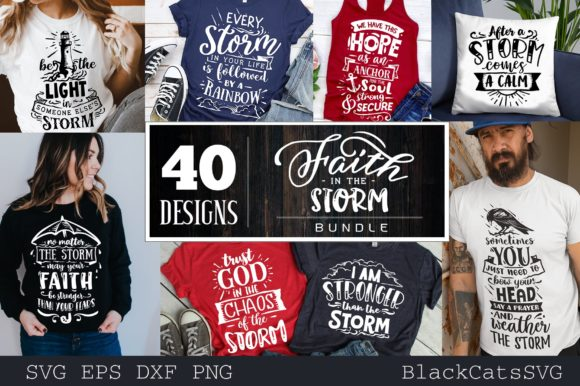 Faith Bundle Bundle 40 Designs Graphic Item
