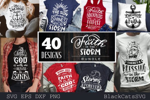 Faith Bundle Bundle 40 Designs Graphic Preview
