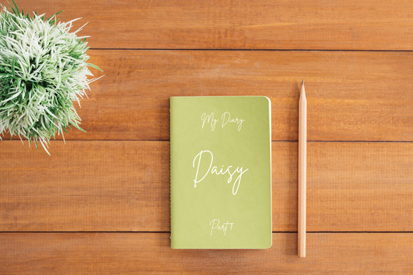 Download Free Flat Lay Simple Notebook Cover Mockup Graphic By Knou Creative for Cricut Explore, Silhouette and other cutting machines.