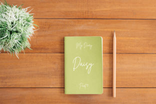 Flat Lay Simple Notebook Cover Mockup Graphic Product Mockups By Vutura