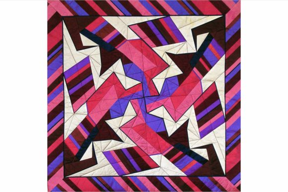 Fractures Design Pinwheel Pattern Graphic Quilt Patterns By dena.dale.crain