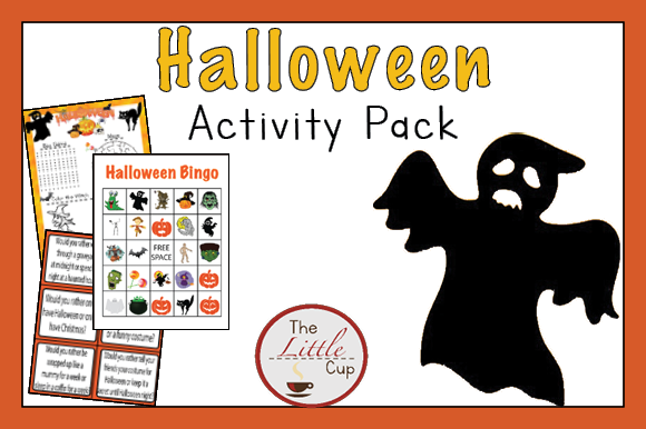 Halloween Activity Pack Graphic Teaching Materials By marie9 - Image 1