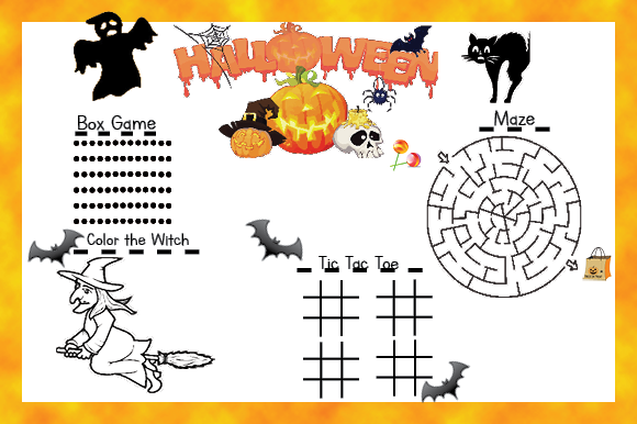 Halloween Activity Pack Graphic Teaching Materials By marie9 - Image 4