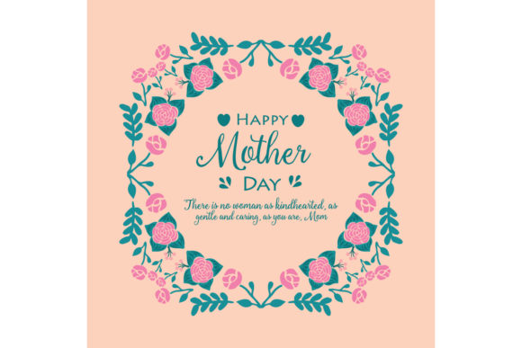 Download Free Happy Mother Day Cards Decoration Graphic By Stockfloral for Cricut Explore, Silhouette and other cutting machines.