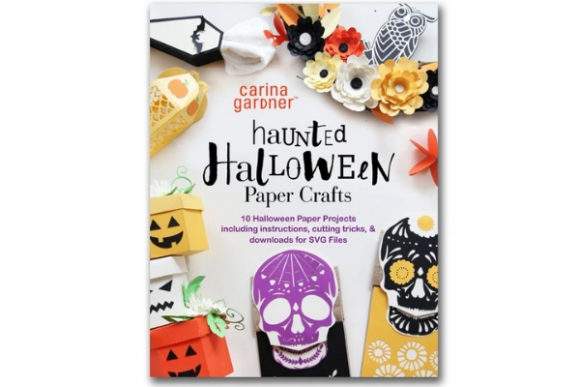 Download Free Haunted Halloween Paper Crafts Graphic By Carina2 Creative Fabrica for Cricut Explore, Silhouette and other cutting machines.