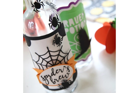 Haunted Halloween Paper Crafts Graphic 3D SVG By carina2 - Image 3