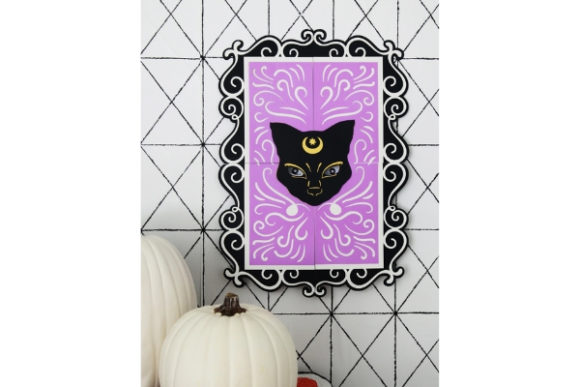 Haunted Halloween Paper Crafts Graphic 3D SVG By carina2 - Image 8