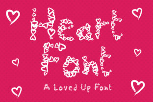 Print on Demand: Heart Dingbats Font By GraphicsBam Fonts