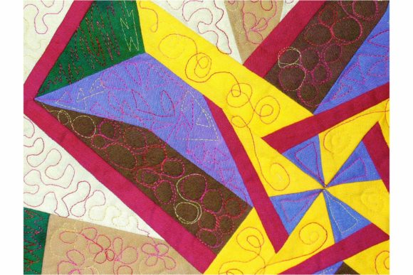 Humdinger Designer Pinwheel Pattern Graphic Quilt Patterns By dena.dale.crain - Image 2