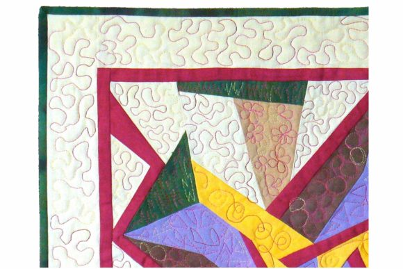 Humdinger Designer Pinwheel Pattern Graphic Quilt Patterns By dena.dale.crain - Image 3