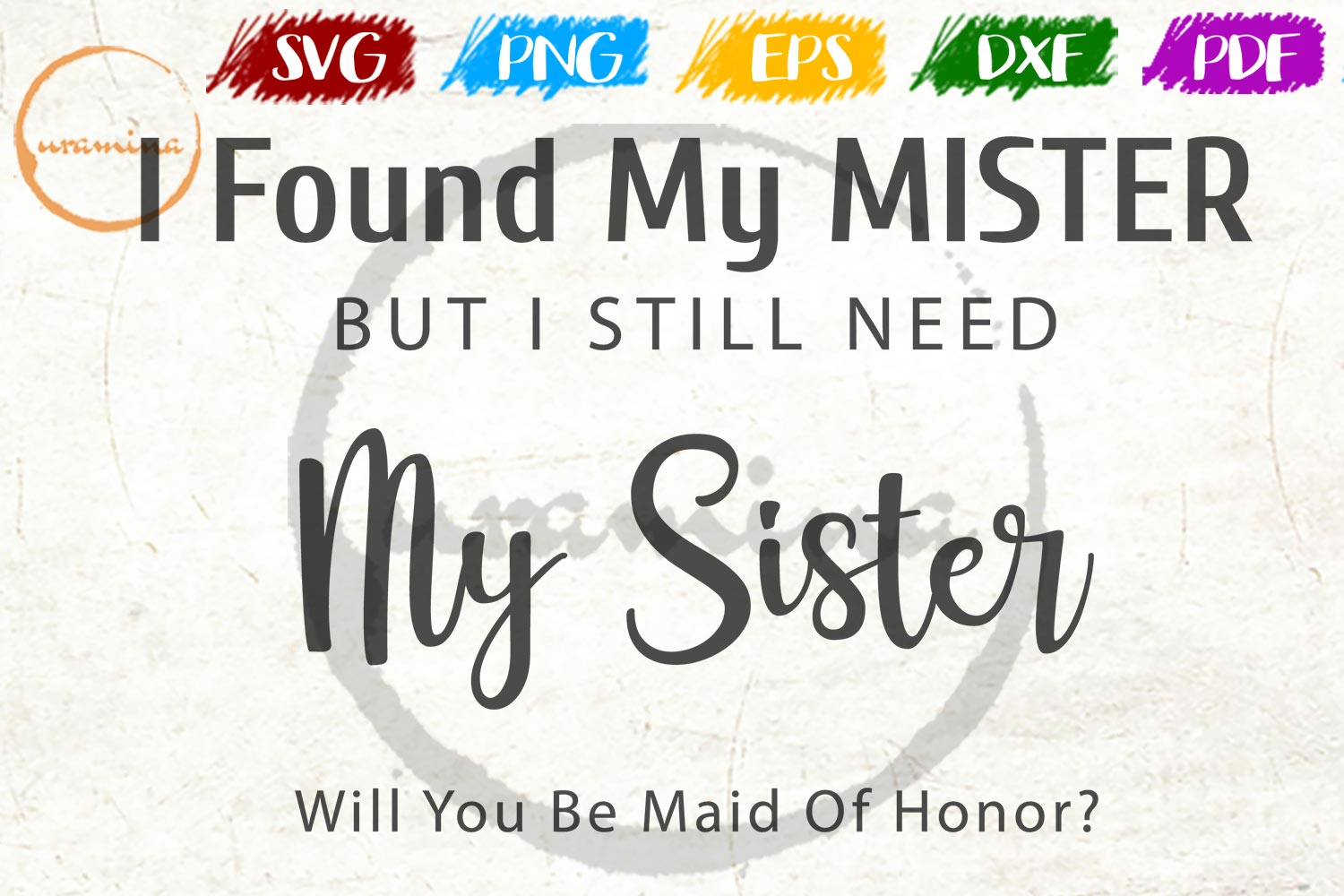 Download Free I Found My Mister But I Still Need Graphic By Uramina Creative for Cricut Explore, Silhouette and other cutting machines.