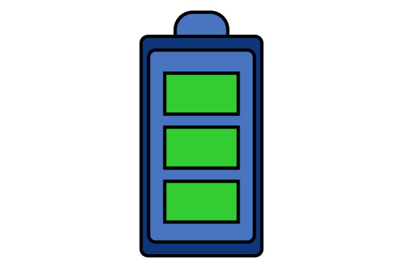 Download Free Illustration Of A Telephone Battery Graphic By Yapivector SVG Cut Files