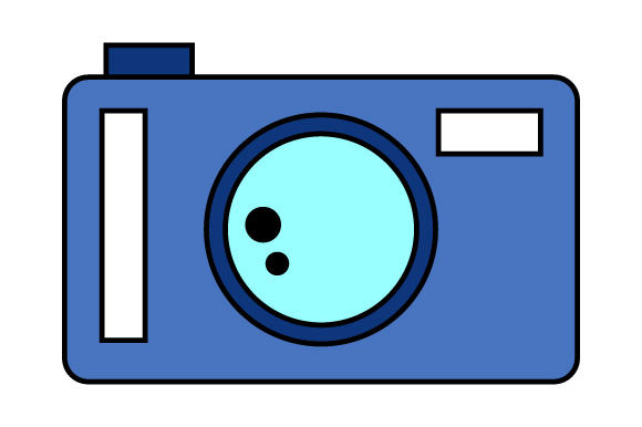 Download Free Illustration Of Pocket Camera Graphic By Yapivector Creative for Cricut Explore, Silhouette and other cutting machines.