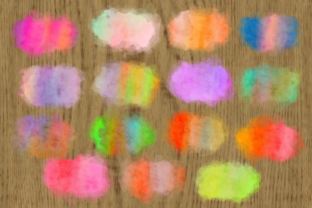 Print on Demand: Ink Splashes and Watercolor Splatters Graphic Backgrounds By Prawny 3