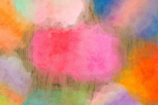 Print on Demand: Ink Splashes and Watercolor Splatters Graphic Backgrounds By Prawny 4