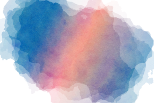 Print on Demand: Ink Splashes and Watercolor Splatters Graphic Backgrounds By Prawny 5