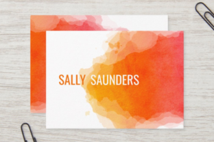 Print on Demand: Ink Splashes and Watercolor Splatters Graphic Backgrounds By Prawny 6