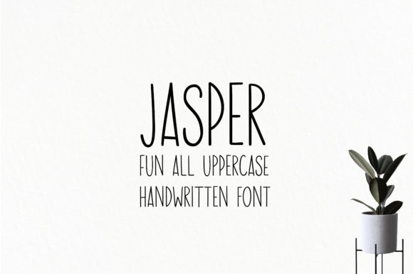 Print on Demand: Jasper Script & Handwritten Font By sunday nomad