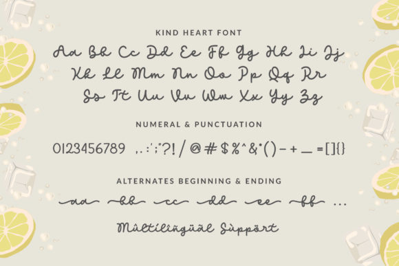 Print on Demand: Kind Heart Script & Handwritten Font By Subectype - Image 10