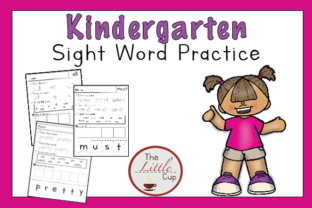 Kindergarten Sight Word Worksheets Graphic Teaching Materials By marie9