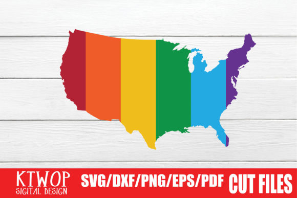 Print on Demand: LGBT Cut Files, Gay Pride Graphic Crafts By KtwoP