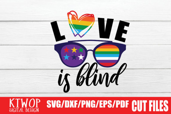 Download Free Love Is Blind Graphic By Ktwop Creative Fabrica for Cricut Explore, Silhouette and other cutting machines.