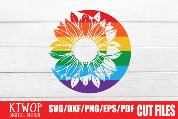 Download Free Lgbt Cut Files Gay Pride Moon Graphic By Ktwop Creative Fabrica for Cricut Explore, Silhouette and other cutting machines.
