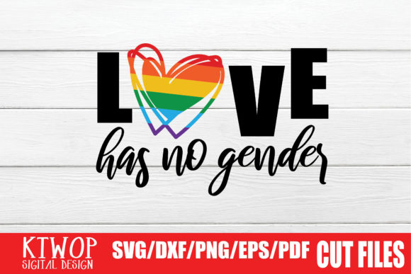 Download Free Lgbt Cut Files Gay Pride No Gender Graphic By Ktwop Creative for Cricut Explore, Silhouette and other cutting machines.
