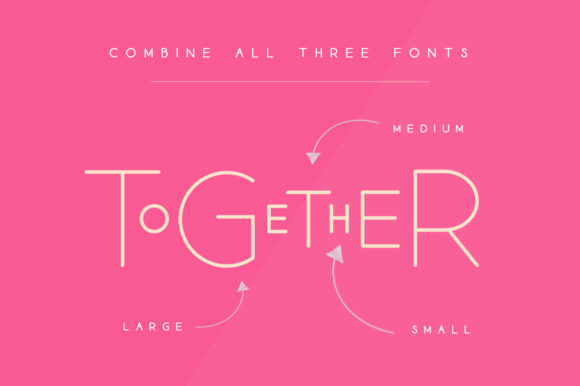 Print on Demand: Lollypollen Trio Display Font By Salt & Pepper Designs - Image 2