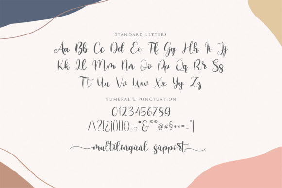 Lovely Girly Font Preview
