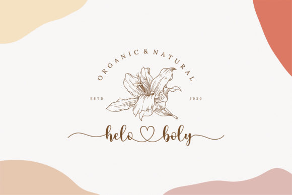 Lovely Girly Font Downloadable Digital File