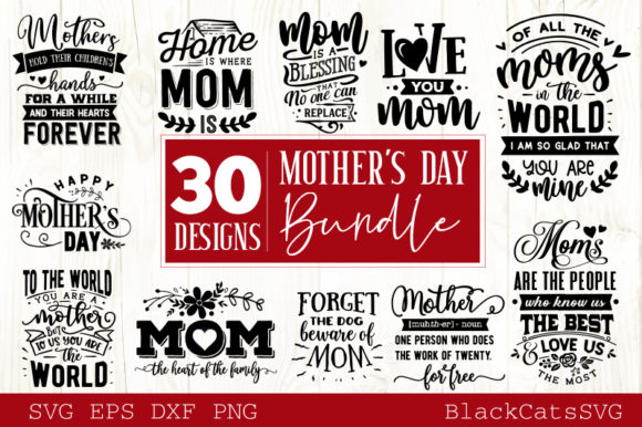 Download Free Mega Bundle 400 Designs Vol 1 Graphic By Blackcatsmedia for Cricut Explore, Silhouette and other cutting machines.