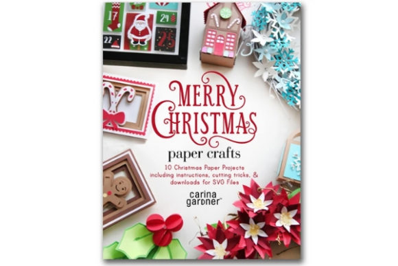 Merry Christmas Paper Crafts Graphic 3D Christmas By carina2