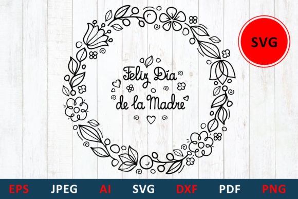 Mother S Day In Spain Graphic By Millerzoa Creative Fabrica