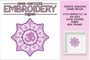 Download Free Namaste Mandala Creative Fabrica for Cricut Explore, Silhouette and other cutting machines.