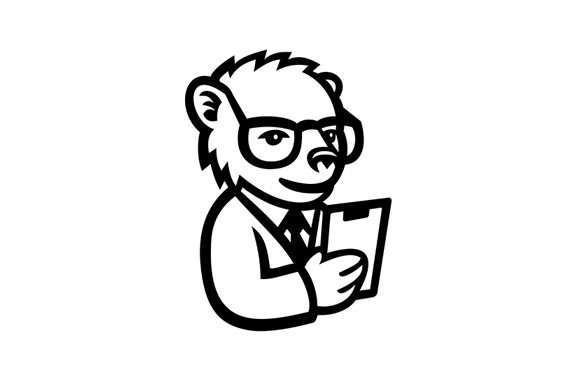 Download Free Nerdy Bear Scientist Mascot Graphic By Patrimonio Creative Fabrica for Cricut Explore, Silhouette and other cutting machines.