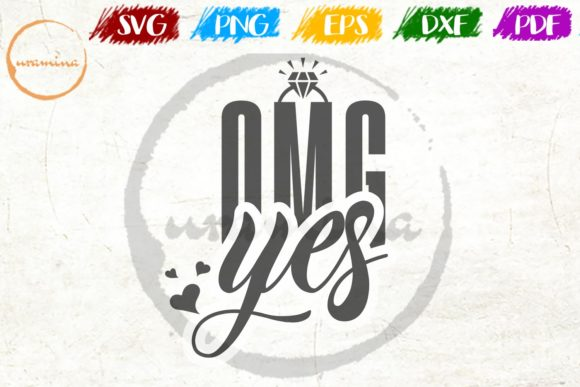 Download Free Omg Yes Graphic By Uramina Creative Fabrica for Cricut Explore, Silhouette and other cutting machines.
