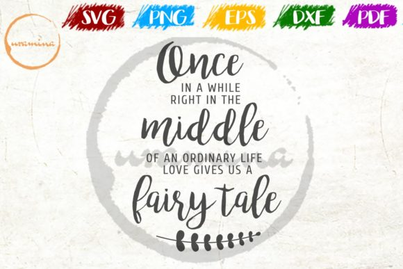 Download Free Once In Awhile Right In The Middle Graphic By Uramina Creative for Cricut Explore, Silhouette and other cutting machines.