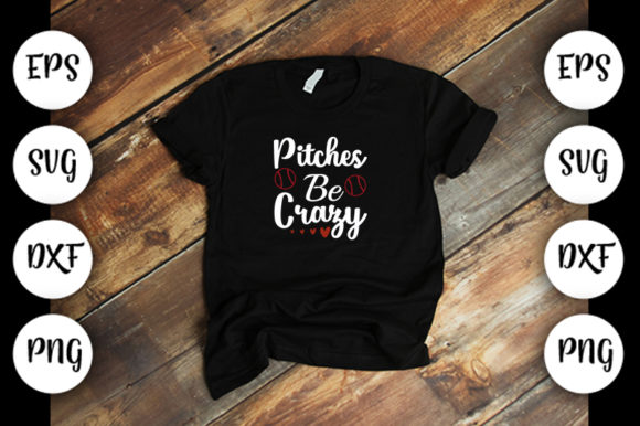Download Free Pitches Be Crazy V2 Graphic By Design Store Creative Fabrica for Cricut Explore, Silhouette and other cutting machines.