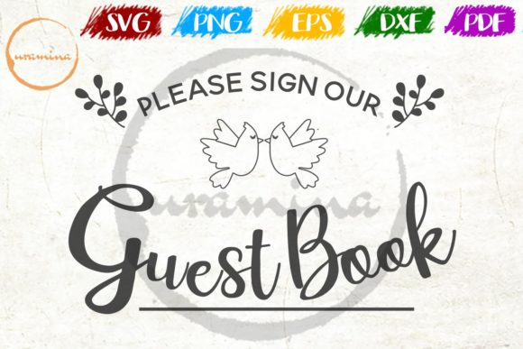 Print on Demand: Please Sign Our Guest Book Graphic Crafts By Uramina