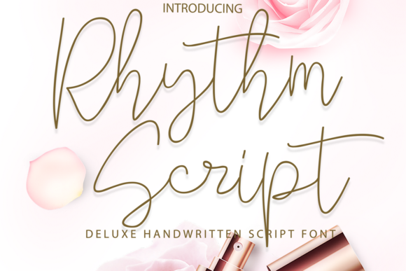 Print on Demand: Rhythm Script Script & Handwritten Font By 177Studio