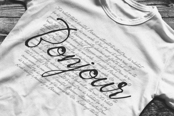 Print on Demand: Sacred Letter Script & Handwritten Font By 38.lineart - Image 12