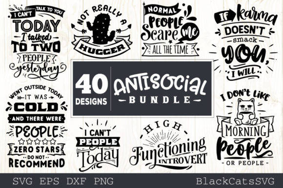 Sassy Bundle 40 Designs Graphic Crafts By BlackCatsMedia - Image 3