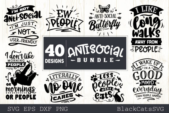 Sassy Bundle 40 Designs Graphic Crafts By BlackCatsMedia - Image 4