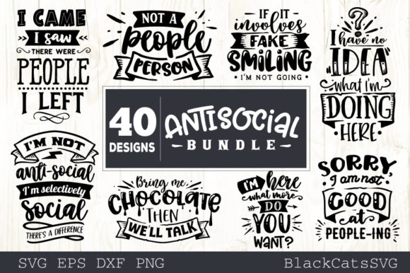 Sassy Bundle 40 Designs Graphic Crafts By BlackCatsMedia - Image 5