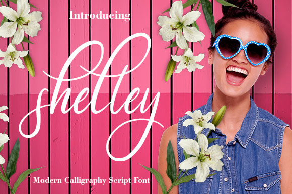 Print on Demand: Shelley Script & Handwritten Font By Juliolailydomingo