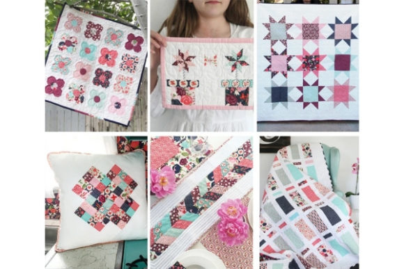Simply Modern Patchwork Quilts Graphic Quilt Patterns By carina2 - Image 2
