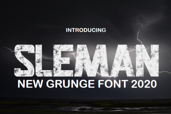 Print on Demand: Sleman Display Font By YonTypeStudio.Co